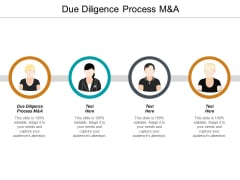Due Diligence Process M And A Ppt PowerPoint Presentation Summary Graphics Template Cpb