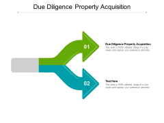 Due Diligence Property Acquisition Ppt PowerPoint Presentation Slides Themes Cpb