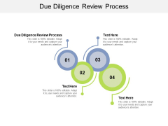 Due Diligence Review Process Ppt PowerPoint Presentation Layouts Ideas Cpb