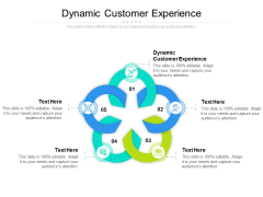 Dynamic Customer Experience Ppt PowerPoint Presentation Icon Demonstration Cpb
