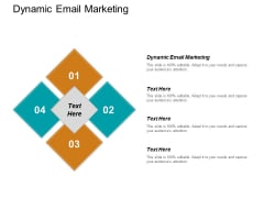 Dynamic Email Marketing Ppt PowerPoint Presentation Show Portfolio Cpb
