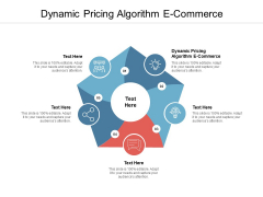Dynamic Pricing Algorithm E Commerce Ppt PowerPoint Presentation Styles Files Cpb