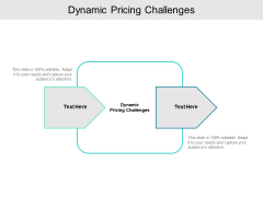 Dynamic Pricing Challenges Ppt PowerPoint Presentation Outline Themes Cpb