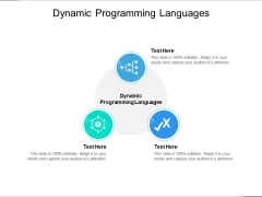 Dynamic Programming Languages Ppt PowerPoint Presentation Slides Master Slide Cpb