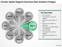 Data Analysis 8 Stages Ppt Business Plans For Non Profit Organizations PowerPoint Templates
