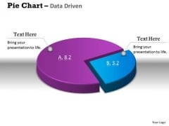 Data Analysis Excel 3d Pie Chart Shows Relative Size Of PowerPoint Templates
