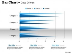 Data Analysis In Excel 3d Bar Chart For Business Trends PowerPoint Templates