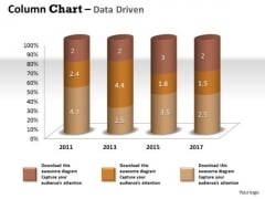 Data Analysis Techniques 3d Effective Display Chart PowerPoint Templates