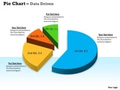 Data Analysis Techniques 3d In Segments Pie Chart PowerPoint Templates