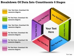 Data Into Constituents 6 Stages How Prepare Business Plan PowerPoint Templates