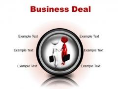Deal Business PowerPoint Presentation Slides Cc