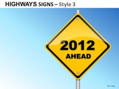 Decision Highways Signs 3 PowerPoint Slides And Ppt Diagram Templates