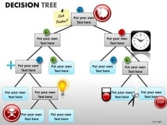 Decision Tree PowerPoint Graphics For Decsion Making Presentations