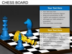 Defeated King Chess PowerPoint Templates