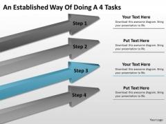 Define Parallel Processing An Established Way Of Doing 4 Tasks Ppt PowerPoint Slide