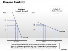Demand Elasticity Business PowerPoint Presentation