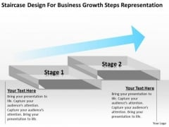 Design For Business Growth Steps Representation Ppt Start Up Plan PowerPoint Templates