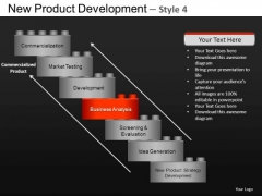 Design New Product Development 4 PowerPoint Slides And Ppt Diagram Templates