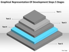 Development Steps 5 Stages Ppt Help Writing Business Plan For Free PowerPoint Templates