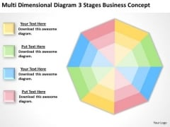 Diagram 3 Stages Business Concept Ppt Strategic Planning PowerPoint Templates