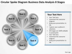 Diagram Business Data Analysis 8 Stages Ppt Annual Plan Template PowerPoint Slides