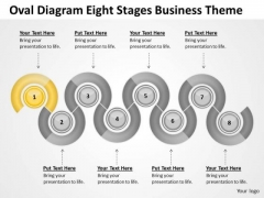Diagram Eight Stages Business Theme Ppt How To Write Plan For Free PowerPoint Slides