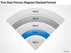 Diagram Stacked Format Business Plan Non Profit Organization PowerPoint Templates
