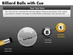 Difficult Position 8 Ball Pool PowerPoint Templates