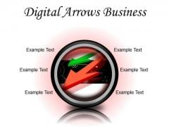 Digital Arrows Business PowerPoint Presentation Slides Cc