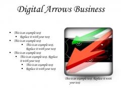 Digital Arrows Business PowerPoint Presentation Slides S