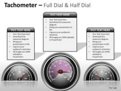 Digital Tachometer Full Dial PowerPoint Slides And Ppt Diagram Templates