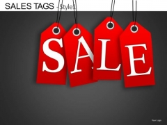 Discount Sales Price Tags Editable PowerPoint Slides Ppt Templates