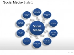 Discussion Social Media PowerPoint Slides And Ppt Diagram Templates