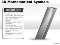 Division 3d Mathematical Symbols PowerPoint Slides And Ppt Diagram Templates