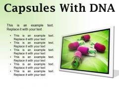 Dna Capsules Medical PowerPoint Presentation Slides F