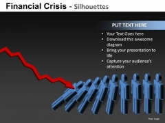 Domino Effect Global Recession PowerPoint Templates