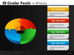 Donut PowerPoint Charts And Pie Chart Ppt Slides