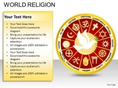 Dove World Religion PowerPoint Slides And Ppt Diagram Templates