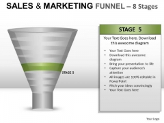 Download 8 Stages Editable Sales Funnel PowerPoint Slides And Ppt Diagram Templates
