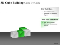Download And Edit 3d Cube Building PowerPoint Slides And Ppt Diagram Templates