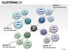 Download And Edit Clustering 2d PowerPoint Slides And Ppt Diagram Templates