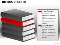 Download Books PowerPoint Graphics Slides