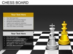 Download Chess King Queen PowerPoint Templates