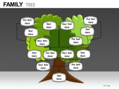Download Editable Family Tree PowerPoint Templates