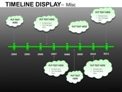 Download Editable Ppt Time Line Charts For PowerPoint Slide
