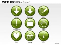 Download Folder Home Icons PowerPoint Graphics And Ppt Clipart Slides