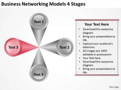Download Networking Models 4 Stages Ppt Creating Business Plan Free PowerPoint Slides