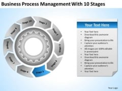 Download Process Management With 10 Stages Business Plans PowerPoint Templates
