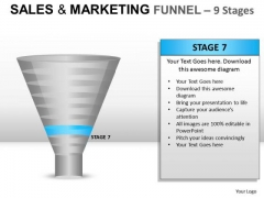 Download Strategy Sales And Marketing Funnel 9 PowerPoint Slides And Ppt Diagram Templates