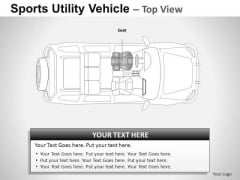 Drive Sports Utility Blue Vehicle PowerPoint Slides And Ppt Diagram Templates